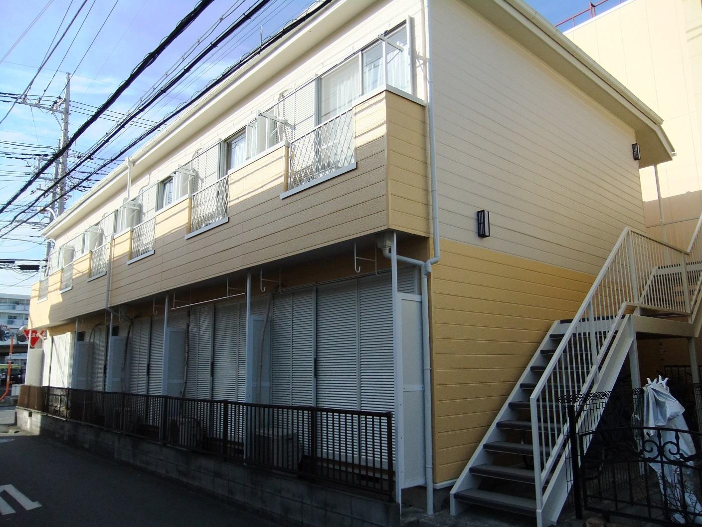 厚木市 賃貸物件アパート集合住宅 外壁塗装