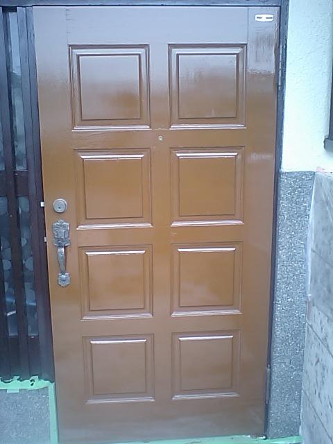 横浜市港南区 戸建玄関扉塗装