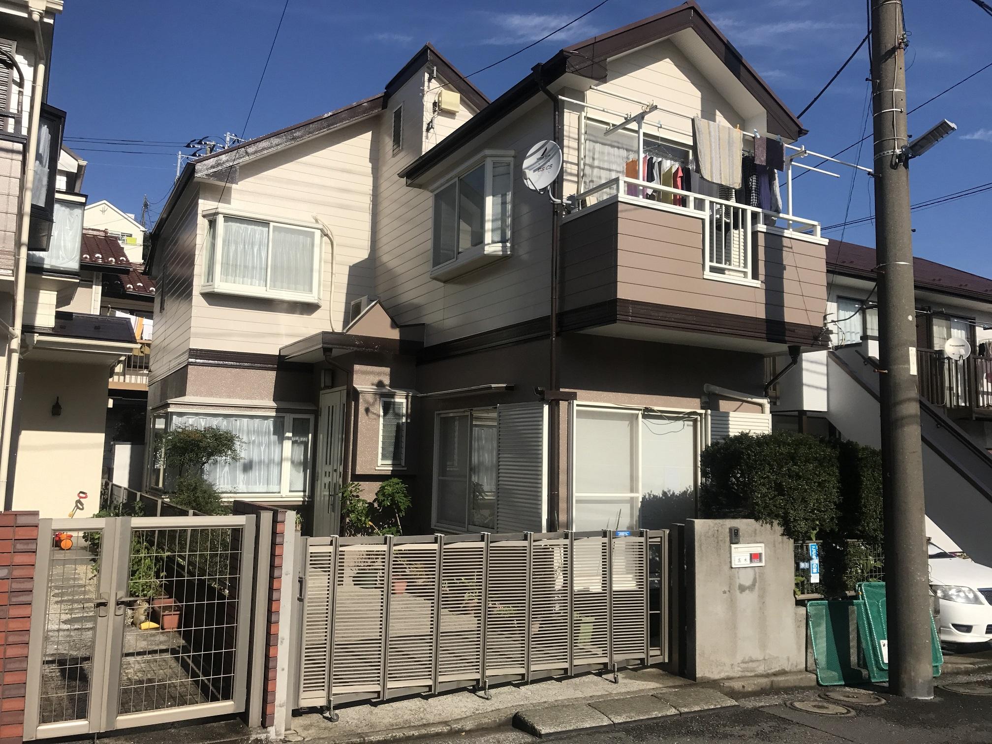 横浜市金沢区 戸建外壁塗装(T様邸)